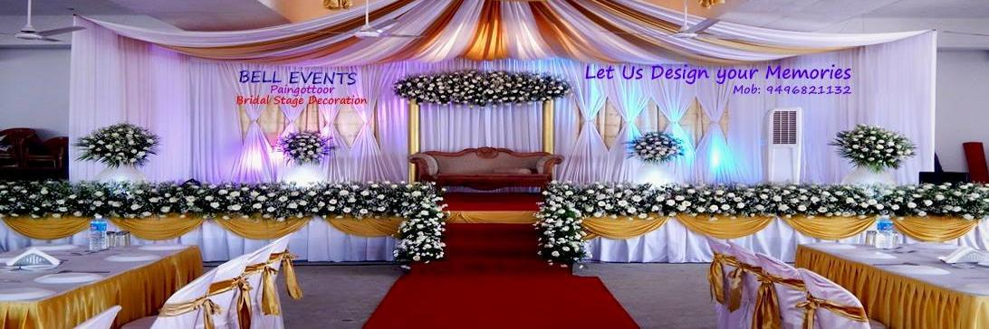 Bell Event Bridal Stage Decoration Paingottoor
