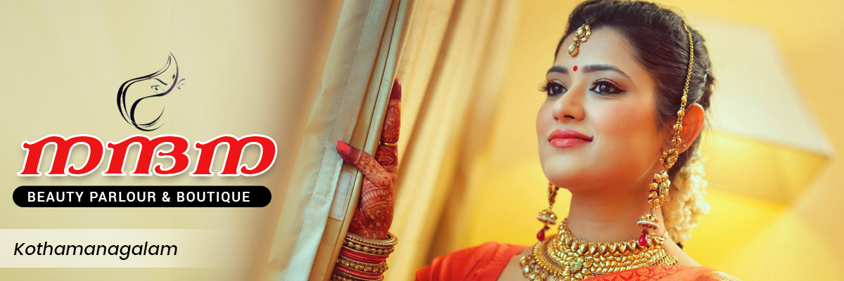 Bridal Makeup Nandana Beauty Parlour Kothamangalam Kerala India