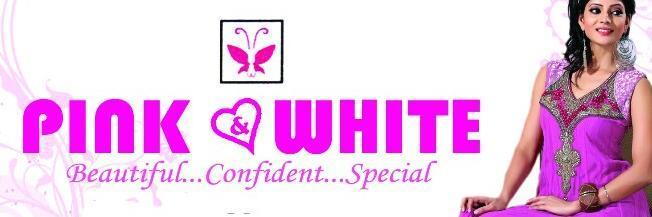 Pink White Designer Studio Changanassery