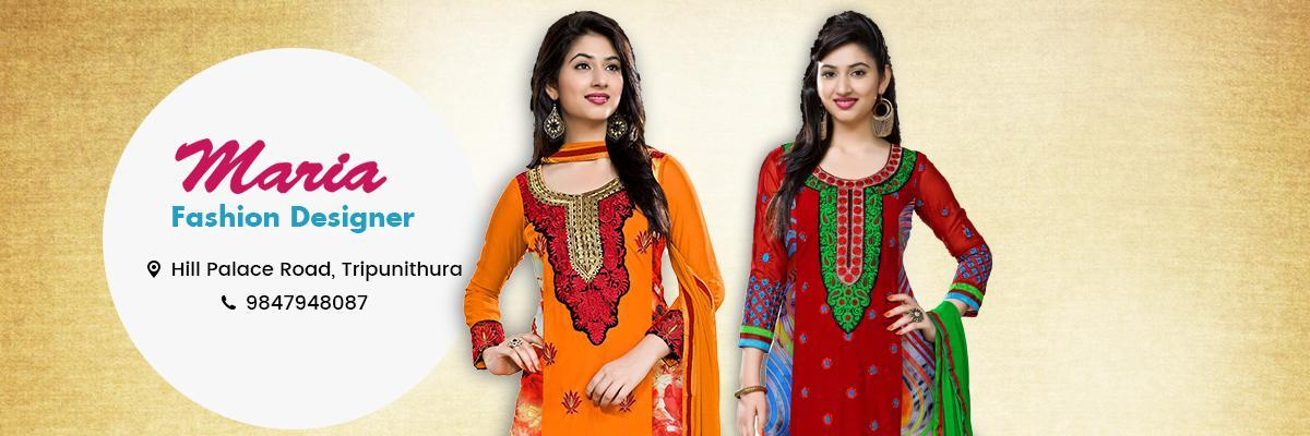 Maria Fashion Designer - Ladies & Kids Tailoring Centre Thrippunithura