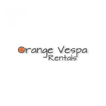 Orange Vespa Rentals in Thiruvananthapuram