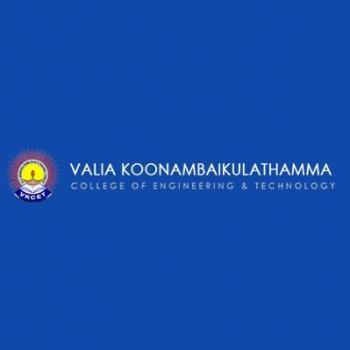 Valia Koonambaikulathamma College of Engineering & Technology (VKCET) in Varkala, Thiruvananthapuram