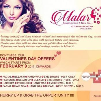 Malar Styling Salon & Spa in Vytilla, Ernakulam