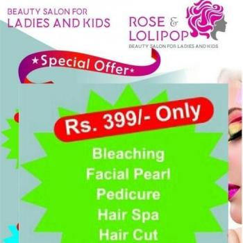 Rose Lolipop Beauty Salon for Ladies and Kids in Kakkanad, Ernakulam