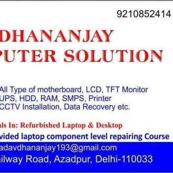 dhananjay computer solution in delhi