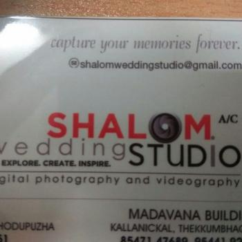 SHALOM WEDDING STUDIO in THODUPUZHA, Idukki