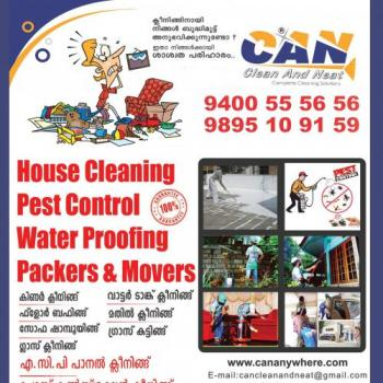 CAN clean and neat in Thrissur