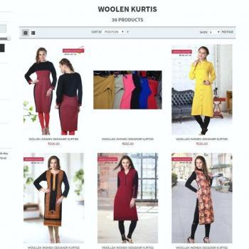 Ladies woolen kurtis manufacturer Ludhiana in Ludhiana