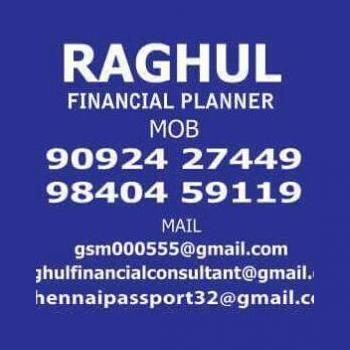 Raghul Financial Consultant in Chennai