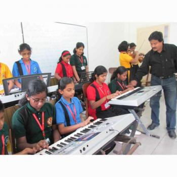 Gayathri music school in Kollam