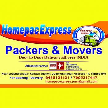 Homepac Express Packers and Movers in Agartala, West Tripura