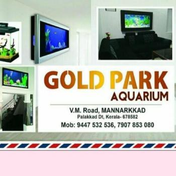 Gold Park Aquarium in Mannarkkad, Palakkad