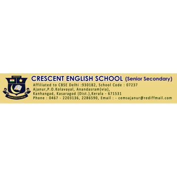 Crescent English School in Kanhangad, Kasaragod