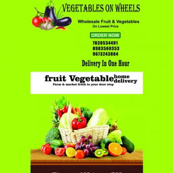 vegetable on wheels in Pune