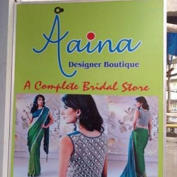 Aaina Designer Boutique in Bangalore
