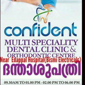 Confident Dental Clinic in Edappal, Malappuram