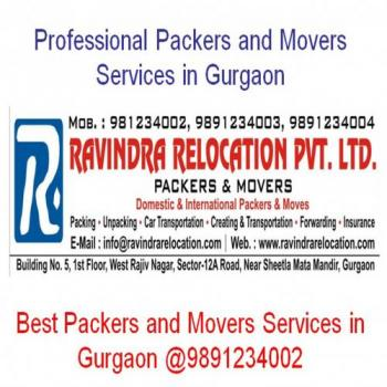 Ravindra Relocation Packers and Movers in Gurugram