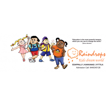 Raindrops Play School in Edappally, Ernakulam