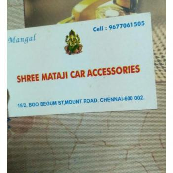 Shree Mata ji car accessories Mangal Singh in Chennai