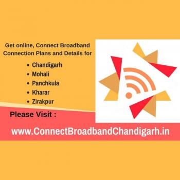 connect broadband connection chandigarh in Chandigarh