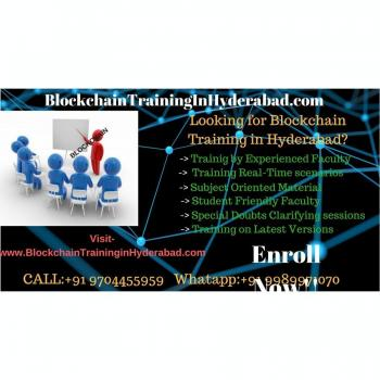 Blockchain Training Institute Hyderabad in Hyderabad