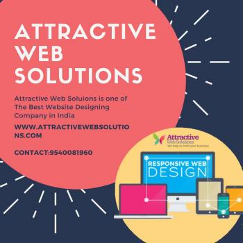 Attractive web solutions in New Delhi
