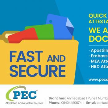 PEC Attestation And Apostille Services India Pvt.Ltd. in Delhi