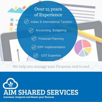 Aim shared services in Delhi