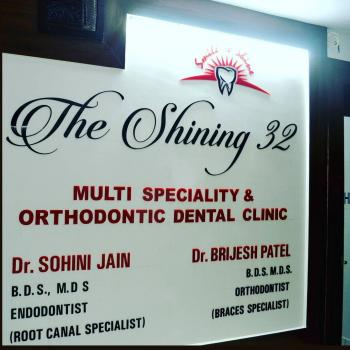 The Shining 32 Multispeciality and Orthodontic Dental Clinic in Indore