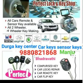 Durga key solution in Bhadravati, Shimoga