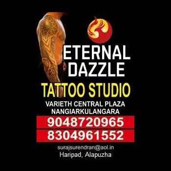 ETERNAL DAZZLE TATTOOS in Alappuzha