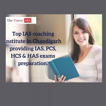 The Vision IAS Coaching Institute in Chandigarh in Chandigarh