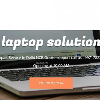laptop solution in New Delhi