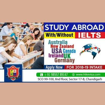 Hike visa Consultants in Chandigarh