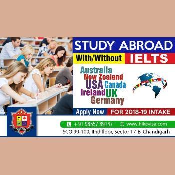 Hike visa Consultants in Chandigarh