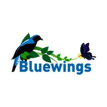 Bluewings in Thattekad, Ernakulam