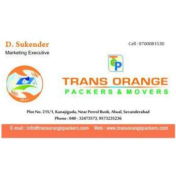 Trans orange packers and movers in Hyderabad