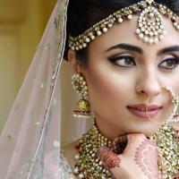 Bridal Make Up at Anugraha Tailoring & Beauty parlour in Irumpupalam