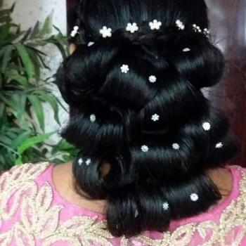 Hair Styling at Eva Beauty Clinic & Spa World in Angamaly