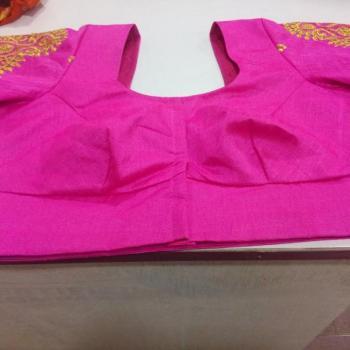 Saree Blouse at Pink White Designer Studio in Changanassery