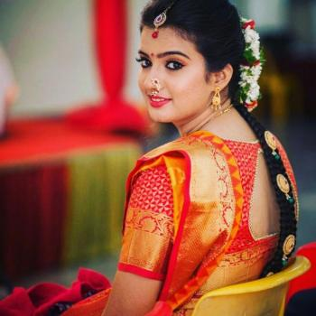 Bridal Make Up at La Bella Beauty Parlour in Piravom