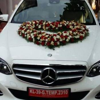 Car Decoration at Touch & Glow Ladies Beauty Clinic in Thiruvalla