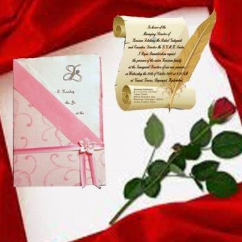 Card Invitation Service at Ring n Roses Events in Kothamangalam