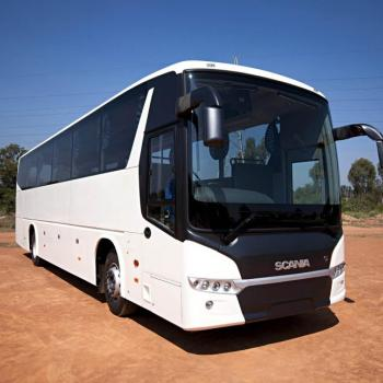 Scania, Volvo, Air bus, Traveller, Innova and all types of luxury cars at Olive Vacations in Kothamangalam
