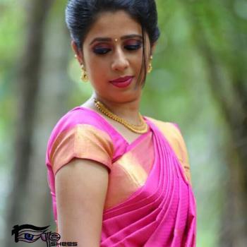 Bridal make up at EyEshe's Beauty Spot in Kothamangalam