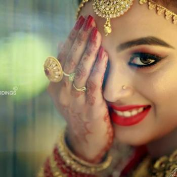 Bridal Makeup at Namitha Herbal Beauty Parlour And Tailoring in Perumbavoor