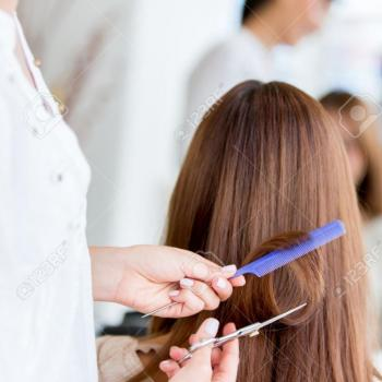 Hair Cut at Enara Beauty Care in Muvattupuzha