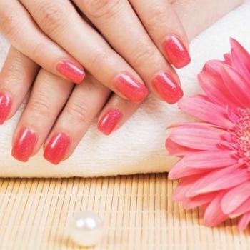 Manicure at Enara Beauty Care in Muvattupuzha