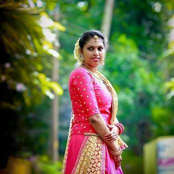 Bridal Makeup at Feather Touch Boutique & Parlour in Kothamangalam