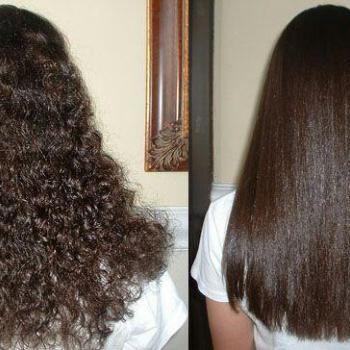 Hair straightening at Mascara Makeup Studio & Beauty Salon in Perumbavoor